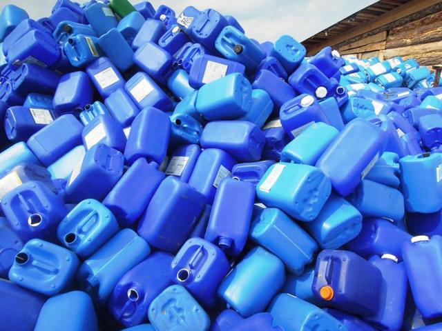 Переработка пластиковых канистр